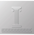 marble column vector image