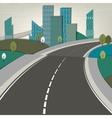 01 Road landscape vector image