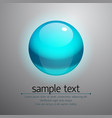 realistic bubble vector image