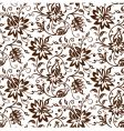 textile floral background vector image