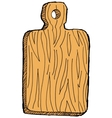 cutting-board vector image