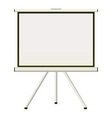 projector screen vector image vector image