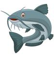 Cartoon catfish vector image