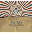 poster for 4th july vector image
