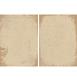 Distressed paper background vector image
