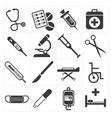 icon medical vector image
