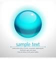 realistic bubble vector image