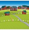 01 Roads City landscape vector image