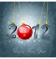 new years type vector image