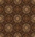 retro styled seventies wallpaper seamless fit back vector image vector image