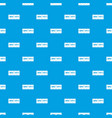 brick wall pattern seamless blue vector image