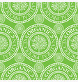 seamless tree pattern 020 vector image