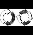 reload arrows vector image