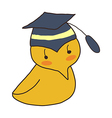 icon chick vector image vector image