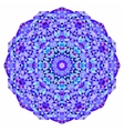 Abstract colorful circle backdrop mosaic round vector image vector image