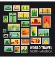 World Travel Icons set vector image