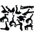breakdance collection 2 - vector image