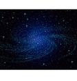 galaxy vector image