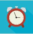 Clock time design vector image