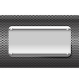 Chrome black and grey background texture 002 vector image