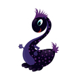cute baby dragon vector image