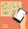 GPS Design vector image