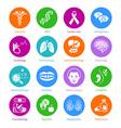 Medicine icons - METRO series vector image vector image