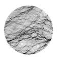 Wave Grid Background 3d vector image