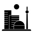 city big icon sign o vector image