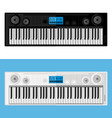 Isolated image of synthesizers vector image vector image