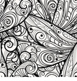 monochrome pattern vector image vector image