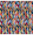 Geometric multicolored seamless vector image vector image