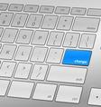 Change Keyboard vector image