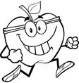 Fun apple activity drawings vector image