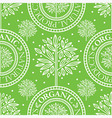 seamless tree pattern 021 vector image vector image