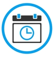 Date Time Rounded Icon vector image