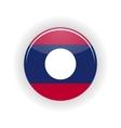 Laos icon circle vector image