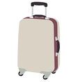 Luggaege wheeled vector image