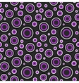Modern circles pattern vector image