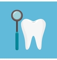odontology tooth tool icon vector image