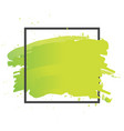 art brush paint abstract texture background vector image