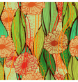 Elegant vintage hand drawn seamless pattern vector image