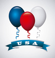 usa celebration design vector image