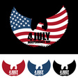 Independence Day America Symbol of ountrys eagle vector image