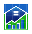 House Value market vector image