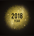 year-gold vector image