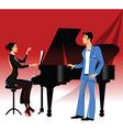 Opera concert vector image vector image