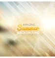 Summer abstract background Summer template poster vector image