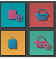 purchase icons set vector image
