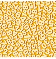 Numbers Seamless pattern vector image vector image